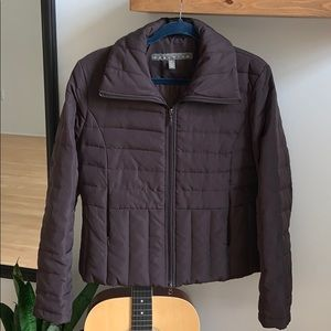 KENNETH COLE brown puff jacket